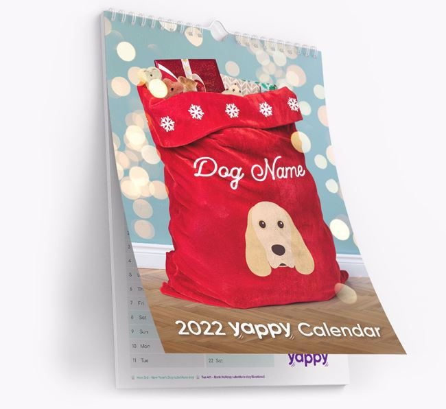 Personalised 2021 Wall Calendar
