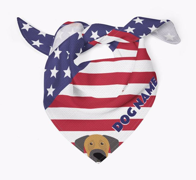 Personalized Stars and Stripes Bandana for your Dog
