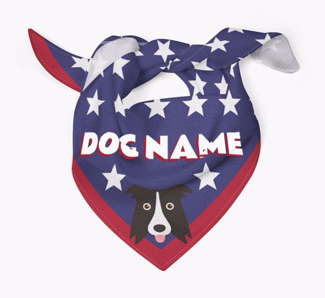 Personalized Stars Bandana for your Dog