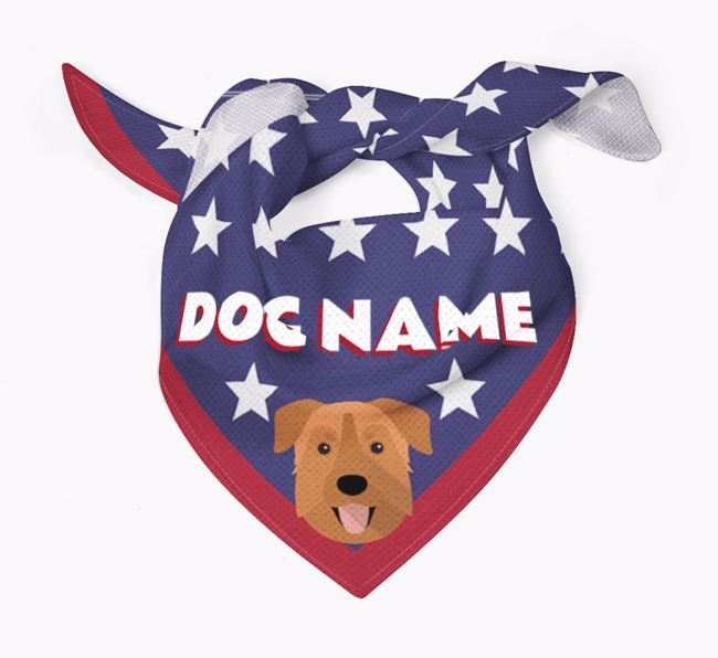 Personalized Stars Bandana for your Chinook