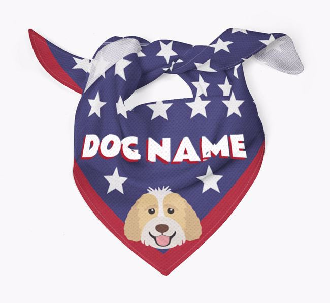 Personalized Stars Bandana for your Labradoodle