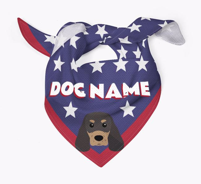 Personalized Stars Bandana for your Sprocker