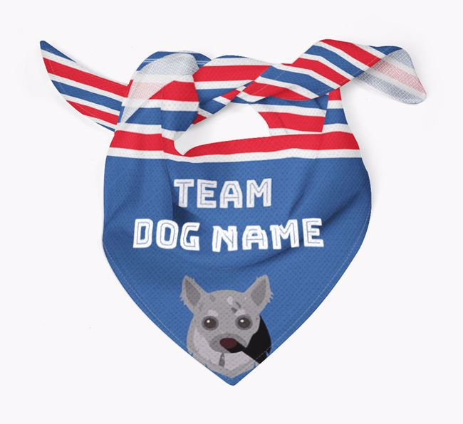 Personalized Team Bandana for your Chihuahua