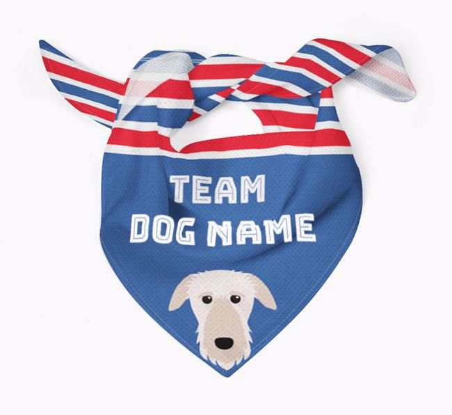 Personalized Team Bandana for your Deerhound
