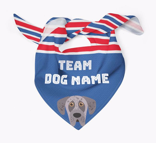 Personalized Team Bandana for your Great Dane