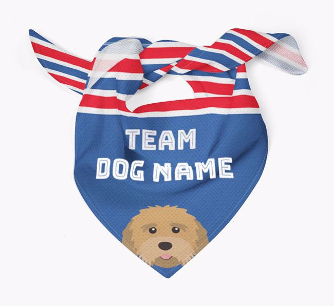 Personalized Team Bandana for your Mixed Breed