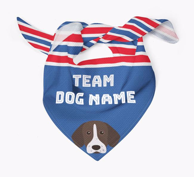 Personalized Team Bandana for your Pointer