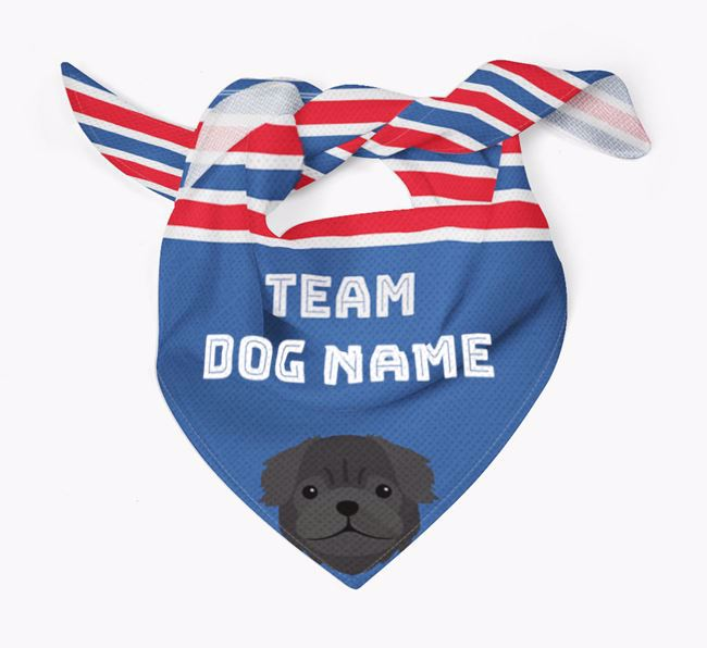 Personalized Team Bandana for your Pug