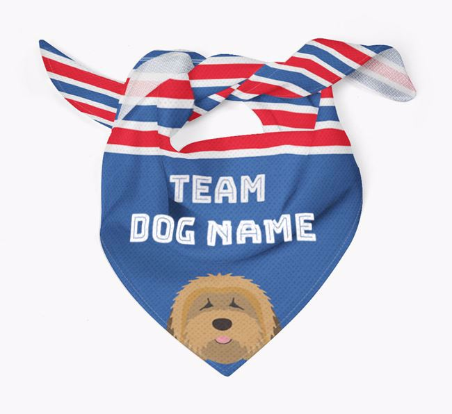 Personalized Team Bandana for your Tibetan Terrier