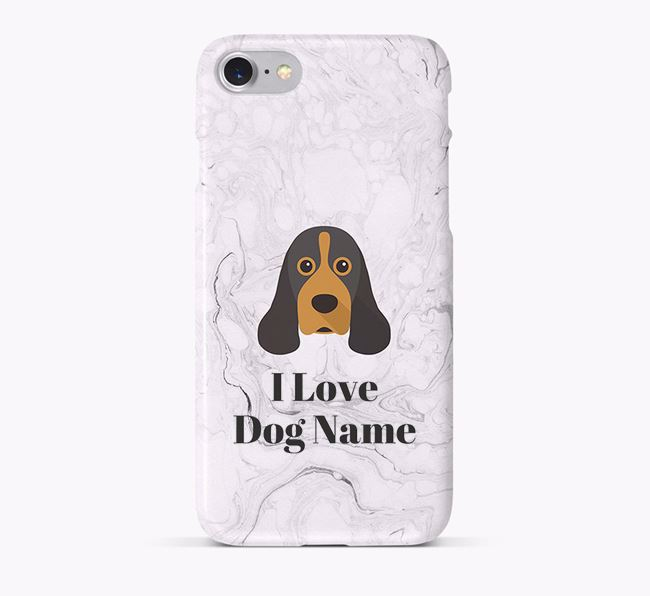 'I Love Your Dog' Phone Case with American Cocker Spaniel Icon