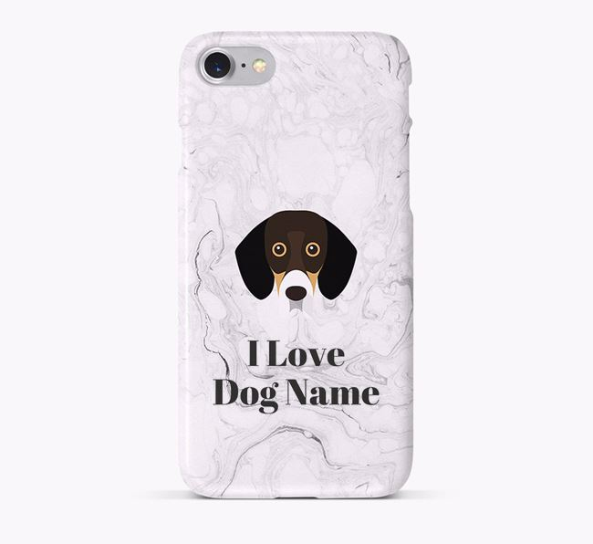'I Love Your Dog' Phone Case with Bassador Icon