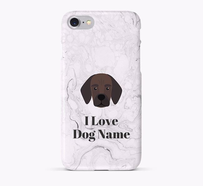'I Love Your Dog' Phone Case with Bassugg Icon