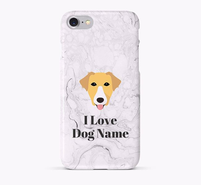 'I Love Your Dog' Phone Case with Borador Icon