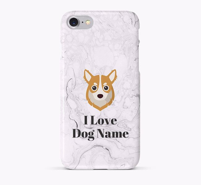 'I Love Your Dog' Phone Case with Chihuahua Icon