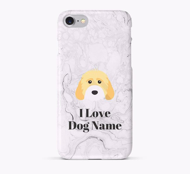 'I Love Your Dog' Phone Case with Cockapoo Icon