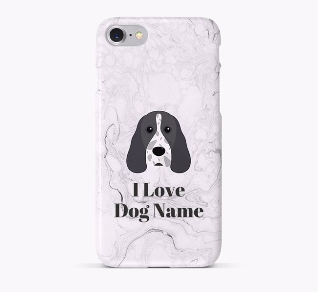 'I Love Your Dog' Phone Case with Cocker Spaniel Icon