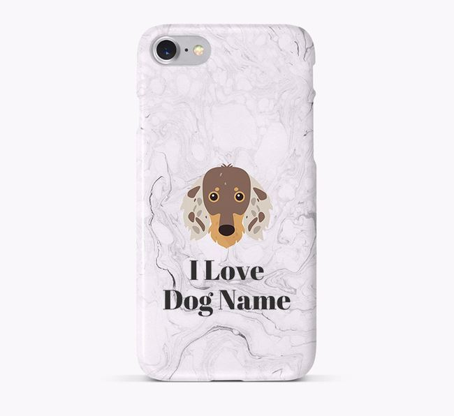 'I Love Your Dog' Phone Case with Dachshund Icon