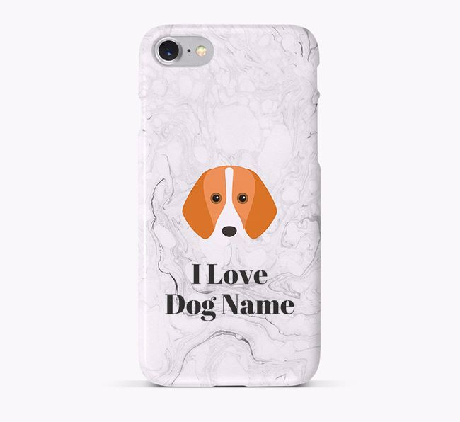 'I Love Your Dog' Phone Case with Foxhound Icon