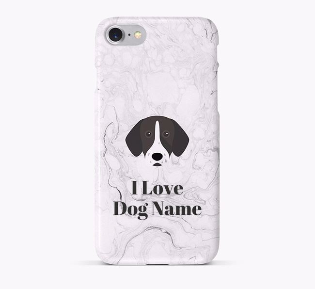 'I Love Your Dog' Phone Case with German Shorthaired Pointer Icon