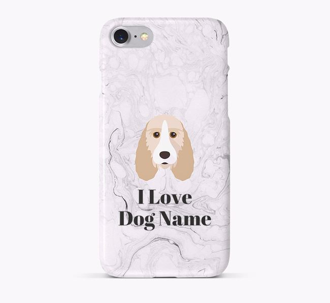'I Love Your Dog' Phone Case with Grand Basset Griffon Vendeen Icon