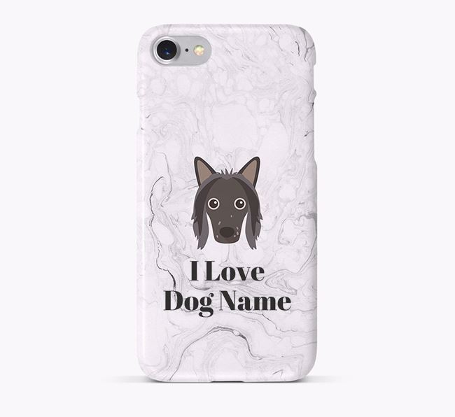 'I Love Your Dog' Phone Case with Hairless Chinese Crested Icon