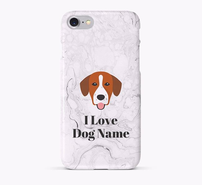 'I Love Your Dog' Phone Case with Springador Icon