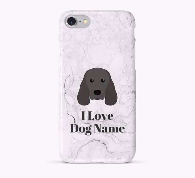 'I Love Your Dog' Phone Case with Sprocker Icon
