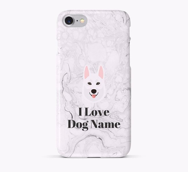 'I Love Your Dog' Phone Case with Tamaskan Icon