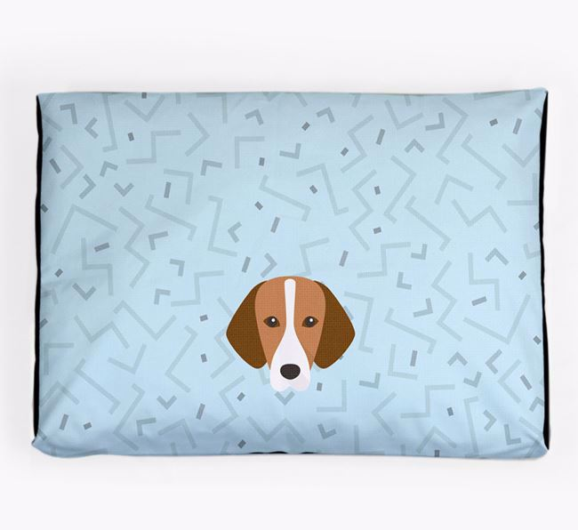 Personalised Minimal Dog Bed with Hamiltonstovare Icon