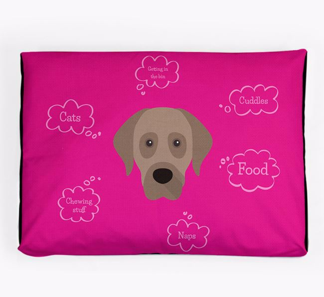 Personalised 'Sweet Dreams' Dog Bed for your Anatolian Shepherd Dog