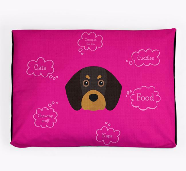 Personalised 'Sweet Dreams' Dog Bed for your Beaglier