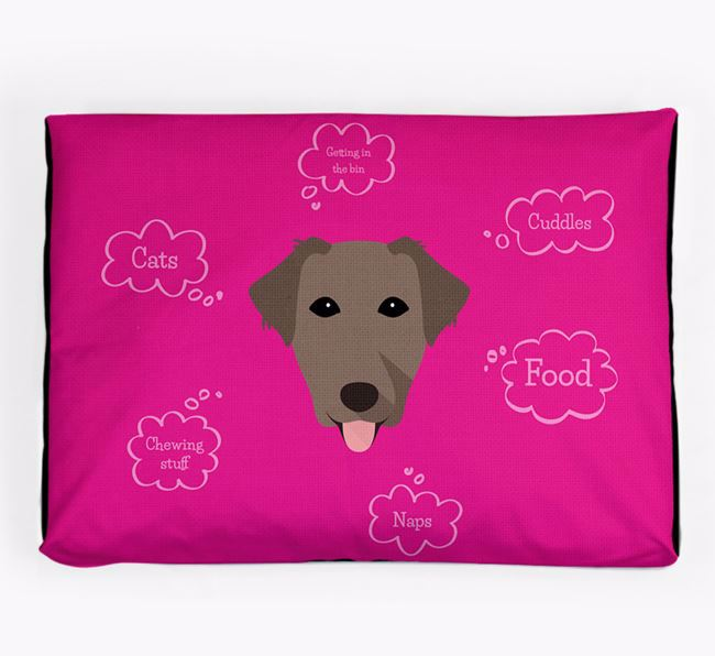 Personalised 'Sweet Dreams' Dog Bed for your Borador