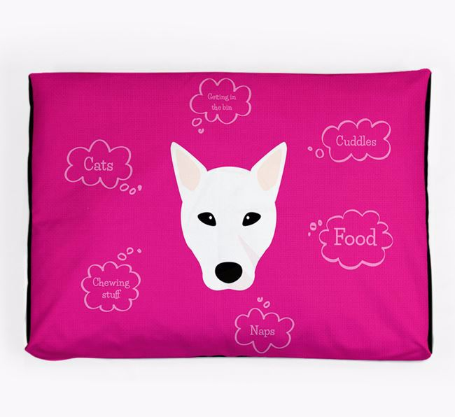 Personalised 'Sweet Dreams' Dog Bed for your Canaan Dog