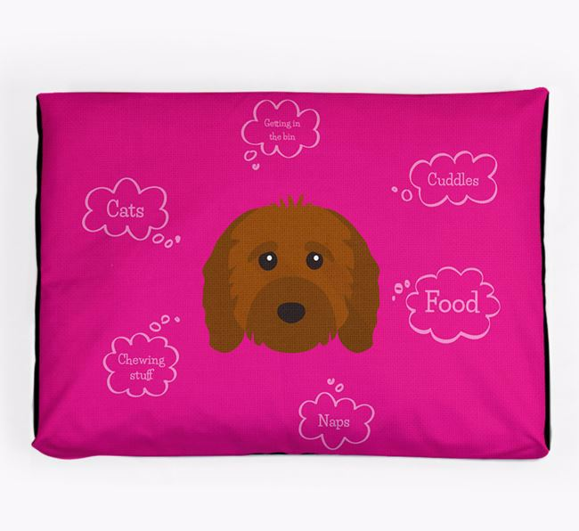 Personalised 'Sweet Dreams' Dog Bed for your Cavapoo