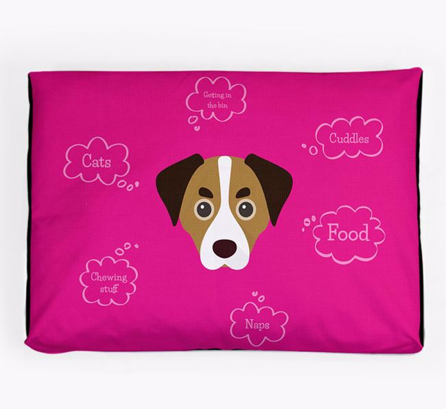 Personalised 'Sweet Dreams' Dog Bed for your Cheagle