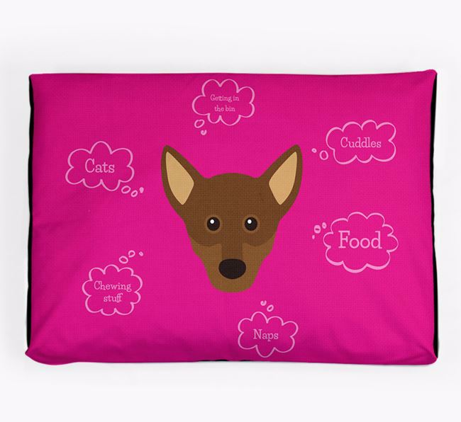 Personalised 'Sweet Dreams' Dog Bed for your Chiweenie
