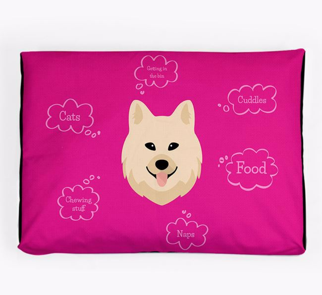 Personalised 'Sweet Dreams' Dog Bed for your Chow Shepherd