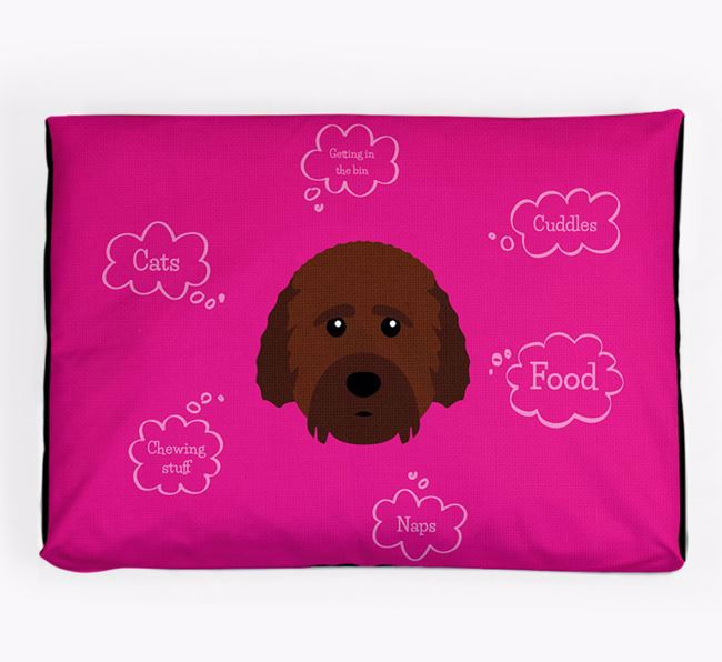 Personalised 'Sweet Dreams' Dog Bed for your Cockachon