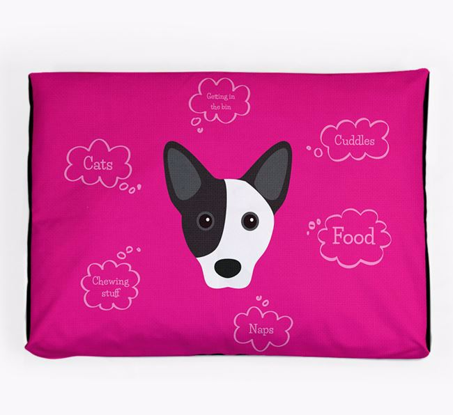 Personalised 'Sweet Dreams' Dog Bed for your Cojack
