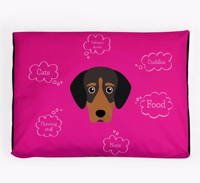 Personalised 'Sweet Dreams' Dog Bed for your Greek Harehound
