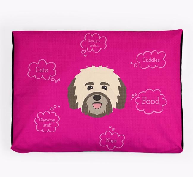 Personalised 'Sweet Dreams' Dog Bed for your Havanese