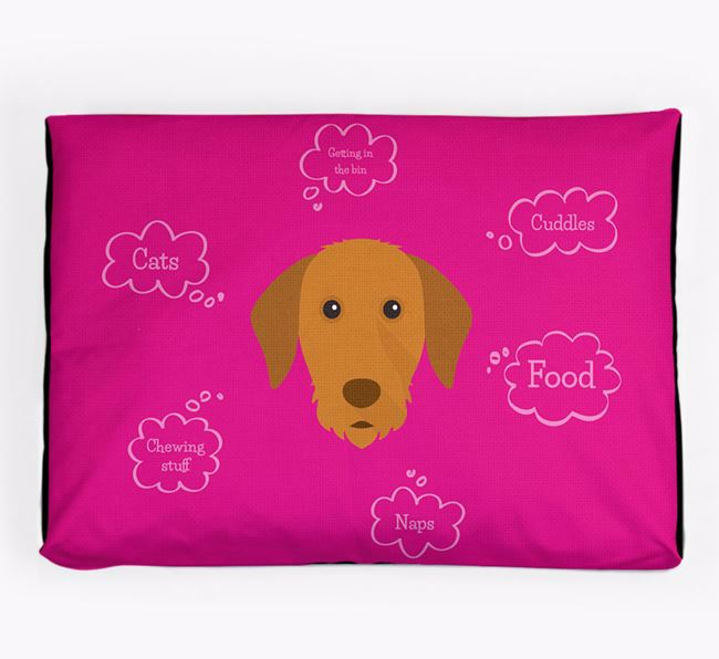 Personalised 'Sweet Dreams' Dog Bed for your Hungarian Vizsla
