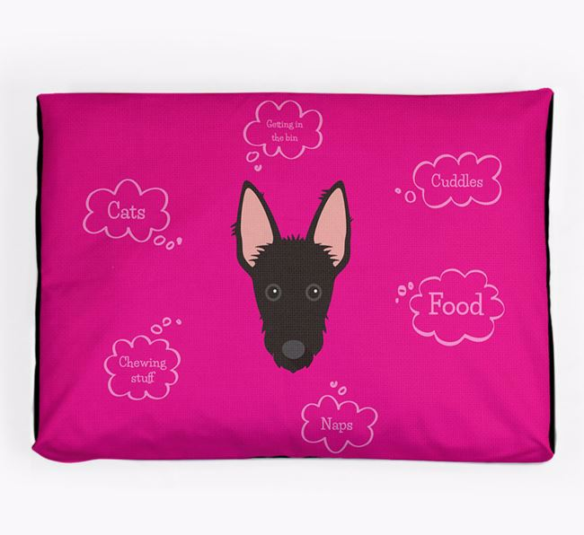 Personalised 'Sweet Dreams' Dog Bed for your Ibizan Hound