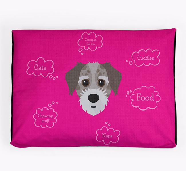 Personalised 'Sweet Dreams' Dog Bed for your Jacktzu