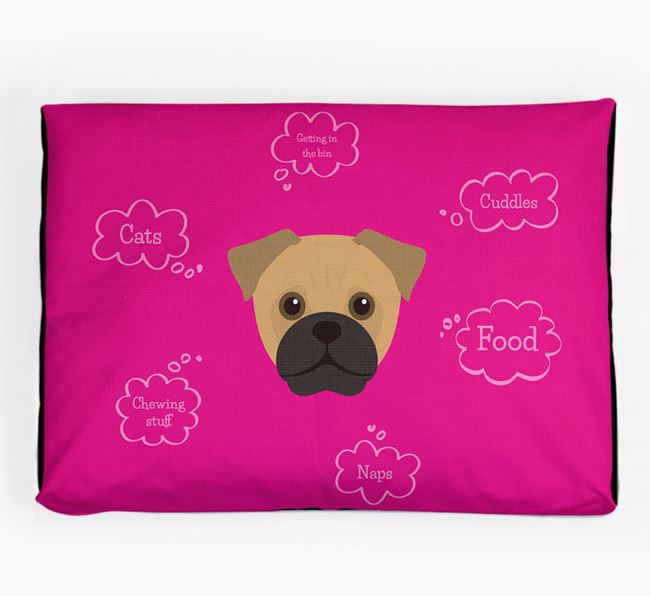 Personalised 'Sweet Dreams' Dog Bed for your Jug