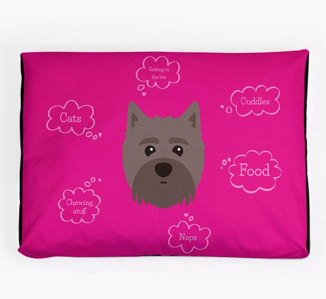 Personalised 'Sweet Dreams' Dog Bed for your Maltipom