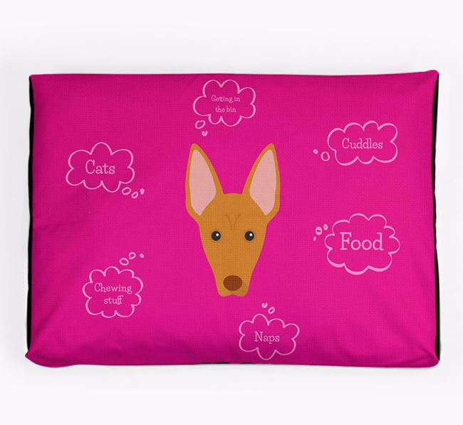 Personalised 'Sweet Dreams' Dog Bed for your Pharaoh Hound