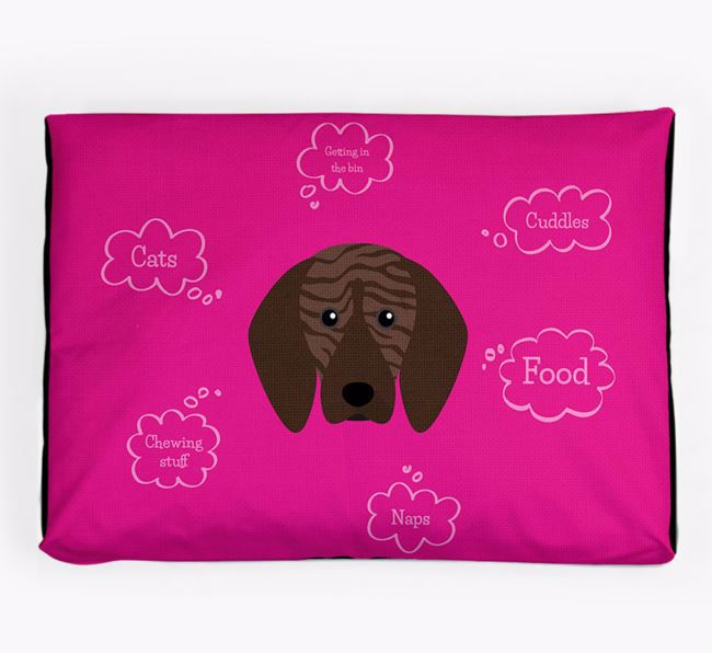 Personalised 'Sweet Dreams' Dog Bed for your Plott Hound