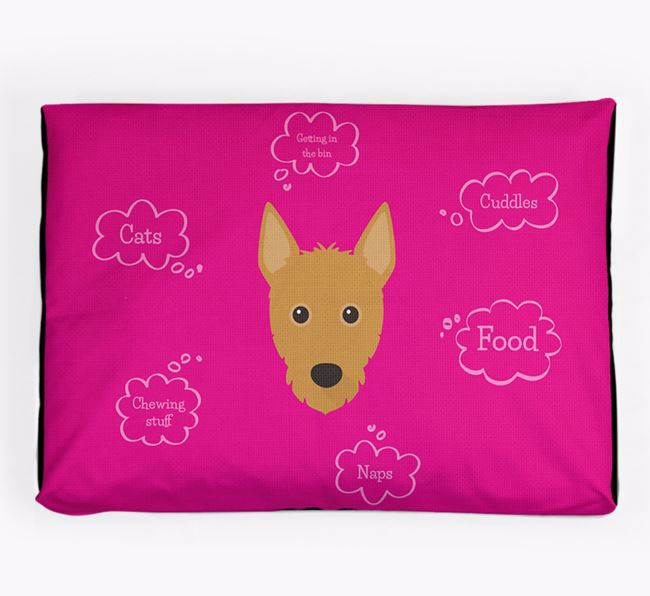 Personalised 'Sweet Dreams' Dog Bed for your Portuguese Podengo