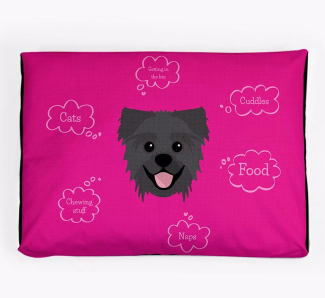 Personalised 'Sweet Dreams' Dog Bed for your Pugzu